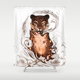 Blank space Shower Curtain