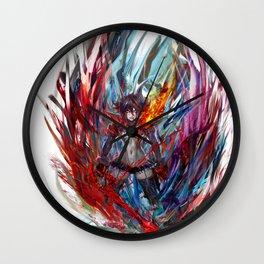 Ryuko Matoi Wall Clock
