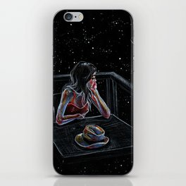 Wait for a Star iPhone Skin