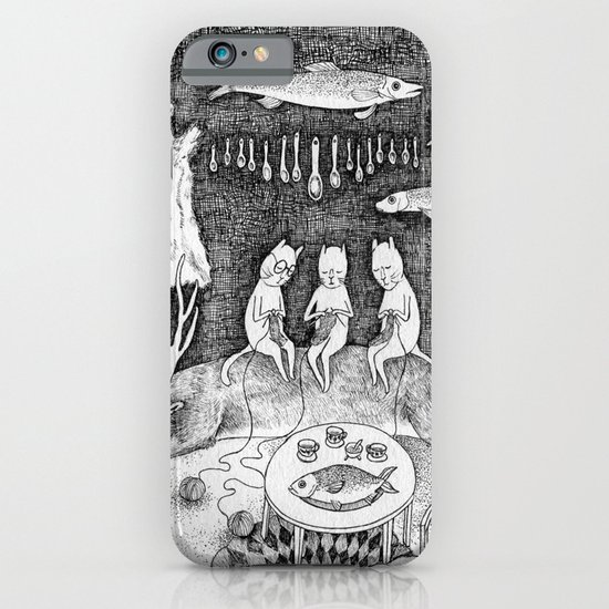 Knitting Cats iPhone & iPod Case