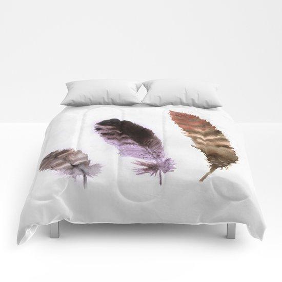 Feathers III Comforters