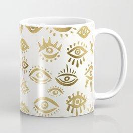 Mystic Eyes – Gold Coffee Mug