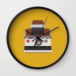 RetroPolaroid Camera Wall Clock