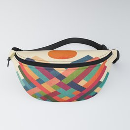 Sun Shrine Fanny Pack