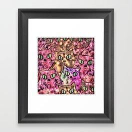 cat-65 Framed Art Print