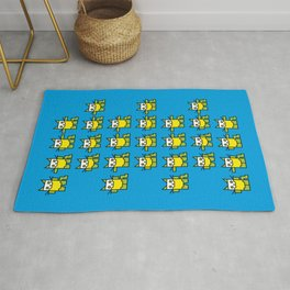Catroid Pattern Rug