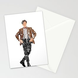 Eleventh Doctor Stationery Cards
