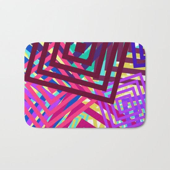 Abstract Geometrics Bath Mat