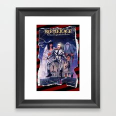 Beetlejuice: Ripped and Torn Greatness! Framed Art Print