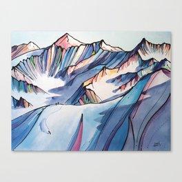 Bucket List Canvas Print