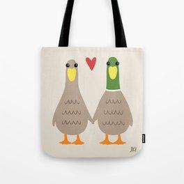 Love Ducks Tote Bag