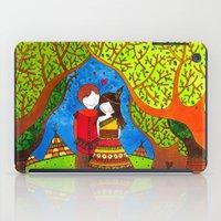 pocahontas iPad Cases featuring Pocahontas by Sandra Nascimento