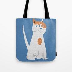 Sam the cat Tote Bag
