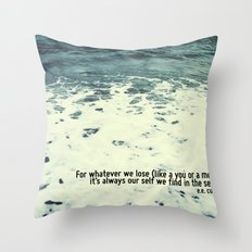 You Sea Me Throw Pillow