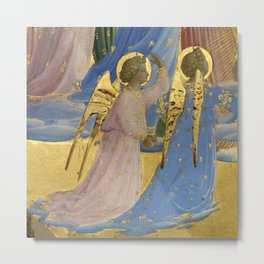 """Fra Angelico (Guido di Pietro) """"The Dormition and Assumption of the Virgin"""" (7) Metal Print"""