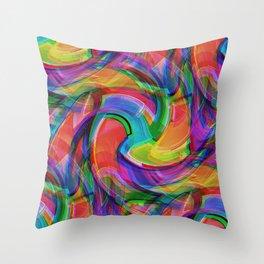 Graffiti Crazy Throw Pillow