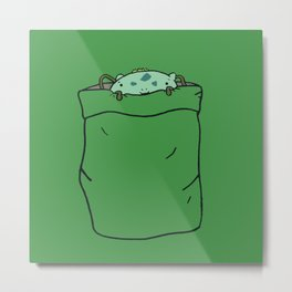 Bulba-saur Pocket Monster... Metal Print