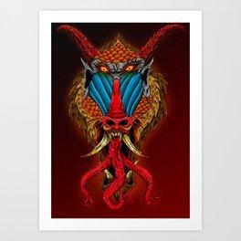 Rafreaki Art Print