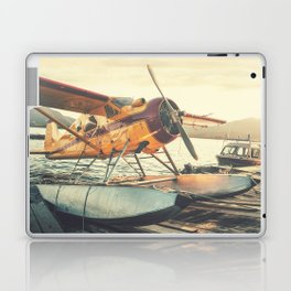 Floatplane in Sunset Laptop & iPad Skin