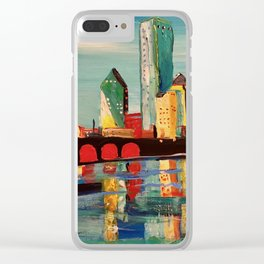 Expression Dallas Clear iPhone Case