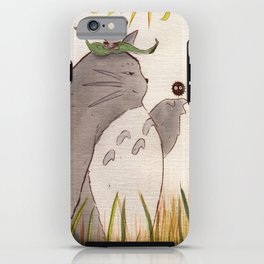 Silent Guardian iPhone Case