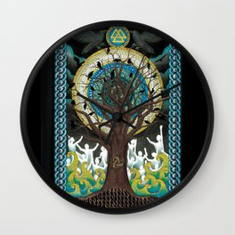 Ode to Odin Wall Clock