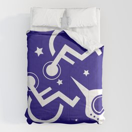 DISABLED IN SPACE Comforters