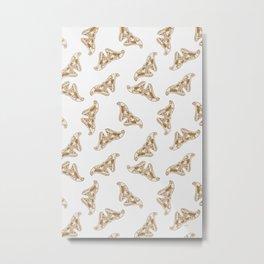 Golden Flight Metal Print