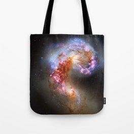Antennae Galaxies Tote Bag