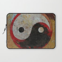 Yin Yang Dragon Laptop Sleeve