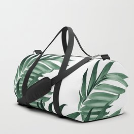 Palm Leaves Tropical Green Vibes #3 #tropical #decor #art #society6 Duffle Bag