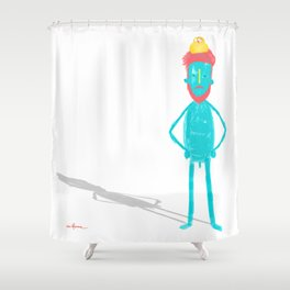 QUITE SIMPLE Shower Curtain
