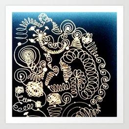 Black Book Series - Endless 02 Art Print