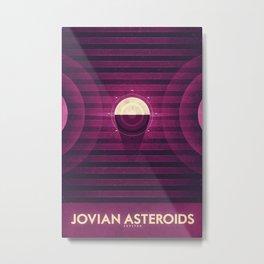 Jupiter - Jovian Asteroids  Metal Print