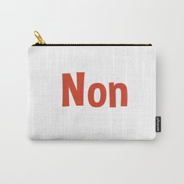 Non Carry-All Pouch