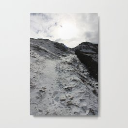 A winter's walk Metal Print