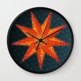 Midnight star Wall Clock