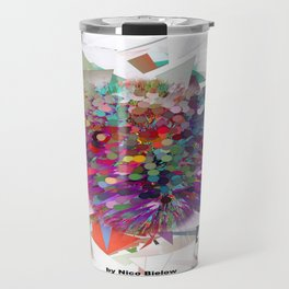 Techno Art by Nico Bielow Travel Mug