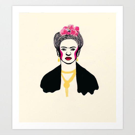 Frida Kahlo II Art Print