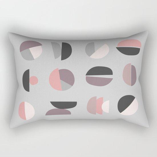 Pastel Geometry 4 Rectangular Pillow