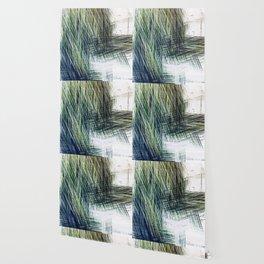 Planet Pixel Stairwell Wallpaper