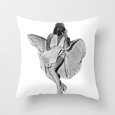 Provocative Vader Throw Pillow