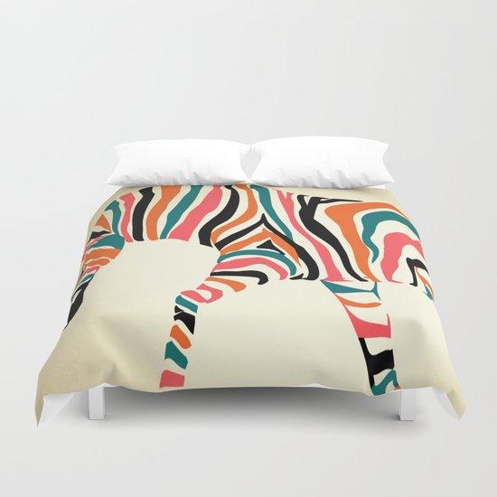 zebra animals  Duvet Cover