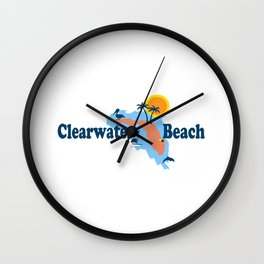 Clearwater Florida. Wall Clock