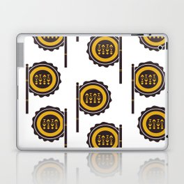 Hand Fan Laptop & iPad Skin