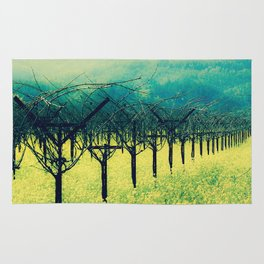 Winter Vineyard I - Serenity Rug