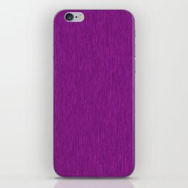 Purple Fibre iPhone Skin