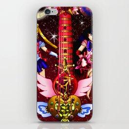 Fusion Sailor Moon Guitar #4 - Sailor Moon & Sailor Mars iPhone Skin