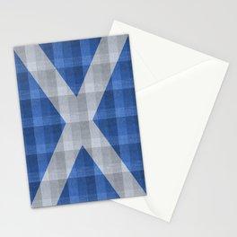 Saltire Duncarron Plaid Stationery Cards