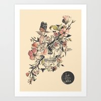 butterfly Art Prints featuring La Dolce Vita by Norman Duenas